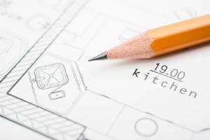 Küchengrundrisse dienen als Grundlage für die Küchenplanung.