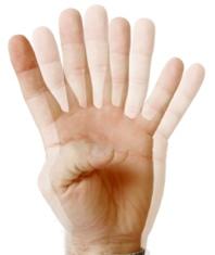 Wurde im Rahmen einer LASIK Augen-Op der Flap nicht korrekt positioniert, können Doppelbilder auftreten.
