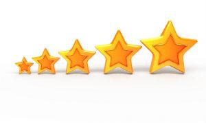 Kundenbewertungen sind vertrauenswürdiger als Werbeslogans von Unternehmen selbst.