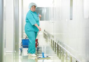 Ob Krankenhaus, Altenheim oder Arztpraxis: Hygienische Reinigung muss sein!