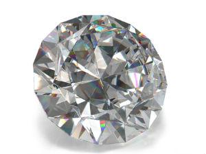 Das funkelnde Resultat einer Diamantbestatttung.