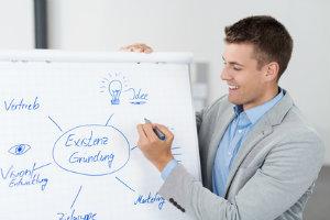 Eine Existenzgründerberatung informiert über alle wichtigen Schritte bei der Gründung.