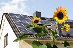 Ganz einfach mit einer Solaranlage Strom gewinnen – die Photovoltaik macht's möglich.