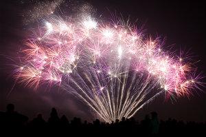 Feuerwerk zur Hochzeit: Kosten, die sich lohnen.