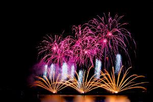 Profi-Feuerwerk ist immer ein Highlight, ganz gleich, ob bei Firmen- oder privaten Feiern.