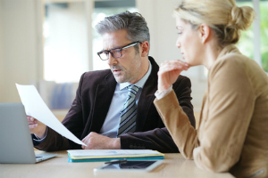 Die Körperschaftssteuererklärung umfasst mehrere Seiten.