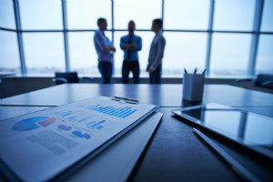 Ein Asset-Manager legt das Vermögen Dritter in verschiedene Assets an.