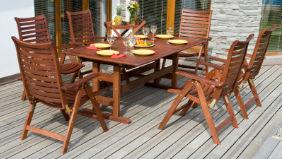 Gartenmöbel Aus Rattan Und Holz - Bewertet.de Holz Gartenmobel Pflegen