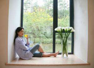 Aluminiumfenster ermöglichen großflächige Konstruktionen.