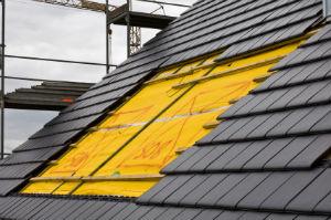 Heizkosten sparen mit der neuen Dachwärmedämmung.