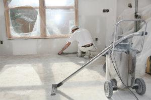 Durch Baufeinreinigung wird das Gebäude bezugsfertig.