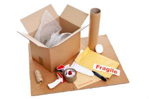 Richtig eingesetztes Verpackungsmaterial verhindert, dass Umzugsgut beim Transport beschädigt wird.