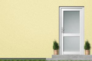 Eine ansprechende und hochwertige Haustürfüllung macht den Unterschied.