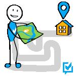 Bevor ein Hauskauf getätigt wird, lohnt ein intensiver Blick auf die Lage der Immobilie