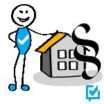 Wer einen Hauskauf-Kredit benötigt, muss wissen, wie er diesen tilgen kann