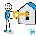 Beim Verkauf einer Wohnung ist der Wohnungsmakler der Schlüssel zum Erfolg