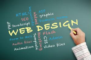 Die Anzahl der Webdesign-Leistungen ist sehr groß.