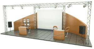 Unternehmen für Messebau bieten Messestände sowohl neu, als auch gebraucht, zum Verkauf an.