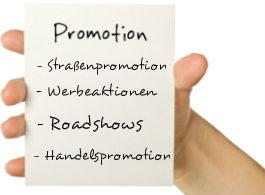 Eine Promotionagentur zu engagieren zahlt sich immer aus.